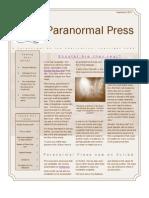 Paranormal Press, Sept. 2010
