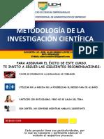 Metodologia de La Investigación 2018 - Parte 1