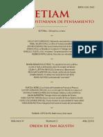 ETIAM Revista Agustiniana de Pensamiento