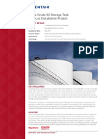 Large Crude Oil Storage Tank Trac-Loc Installation ... - Pentair Thermal