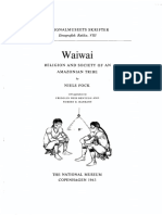 Fock, Niels - Waiwai Religion and Society of an Amazonian Tribe