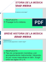 Historia de La Música 2º Eso