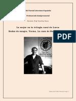 La Trilogía Rural de García Lorca. La Mujer