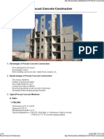 Arch 220 - Precast Concrete Construction