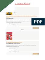 13 Libros Frederic Delavier