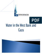 Water in the West Bank and Gaza