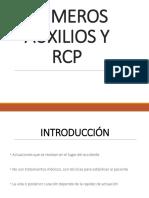 Primeros Auxilios y Rcp