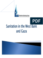 Sanitation in the West Bank and Gaza