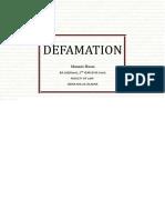 Defamation (1)