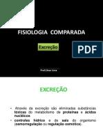Fisiologia Comparada Da Excrecao1100420131732