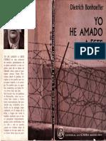 Dietrich Bonhoeffer - Yo He Amado Este Pueblo - Voces Nocturnas