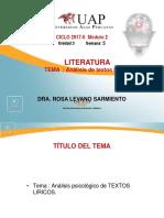 Ayuda 5 Analisis de Textos Liricos