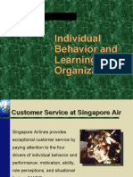 Individual Behavior and Learning in Organizations-Ob2Visit Us @ Management.umakant.info