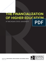 The Financialization of Higher Education at Michigan State University