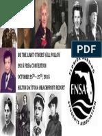 2018 FNSA Convention Flier