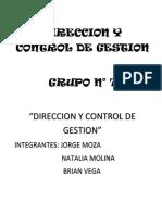DCG 7 Dirección y Control de Gestión