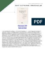 El Comentario Gramatical (T 1) (2 Vol)