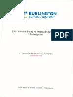 Burlington School Board Investigation, by Daniel Troidl