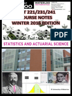 STAT 231 Course Notes W16 Print