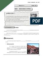 Guía Nº 4 - La Tierra - Geodinámica Externa