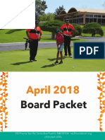 2018 Board Packet