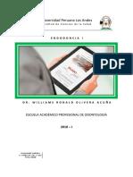 Silabo de Endodoncia i 2018 i