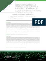 APLICACIONES Y DESAFÍOS de LA Nanotecnologia en El Control y Mitigacion de La Contaminacion