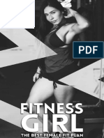 Fitness Girl the Best Female Fit Plan