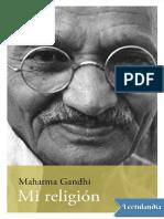 Mi Religion - M. K. Gandhi