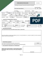 Rg Th 003 003 Formulario de Postulacion Para Ypfb Chaco