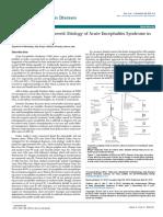 Unveiling the Undiscovered Etiology of Acute Encephalitis Syndrome Innorth India 2314 7326 1000e101