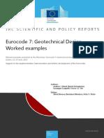 Eurocode 7 Geotechnical Design