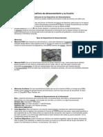 Clasificación de Dispositivos de Almacenamiento y Su Función