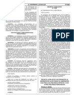 DL N° 1058 Generación Eléctrica con Recursos Hídricos y otros Recursos Renovables