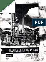 Mecanica de Fluidos Aplicada 4ta Edicion - Robert L. Mott