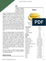 Plátano (Fruto) - Wikipedia, La Enciclopedia Libre