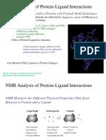 NMR Protein Ligand