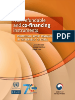 Non-refundable and Co-financing Instruments