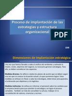 Estrategias y estructura organizacional