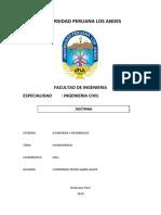 Universidad Peruana Los Andes Caratula
