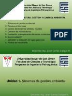 1. Sistemas de Gestion Ambiental