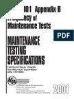 NETA Frequency of Maintenance Tests.pdf