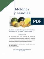 Info Melon y Sandia 2014
