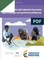 Cualificación Del Talento Humano Que Trabaja en EI