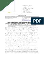 DOJ Drug Conspiracy Case 4-13-18
