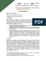 UNPFII17 Parallel Event - Indigenous Midwifery - Concept Note