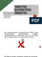 Conductas autodestructivas indirectas