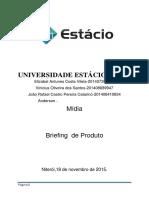 Trabalho Brifing de Acordo Com Planejamento de Midia Maxima Proteção
