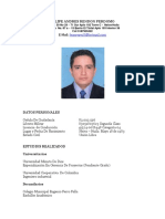 Hoja de Vida Felipe Rendon Bta