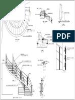 Plano Escalera metalica